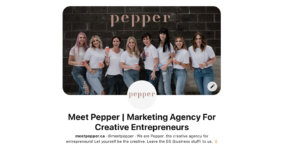 pinterest updates made to meet pepper's profile in 2021